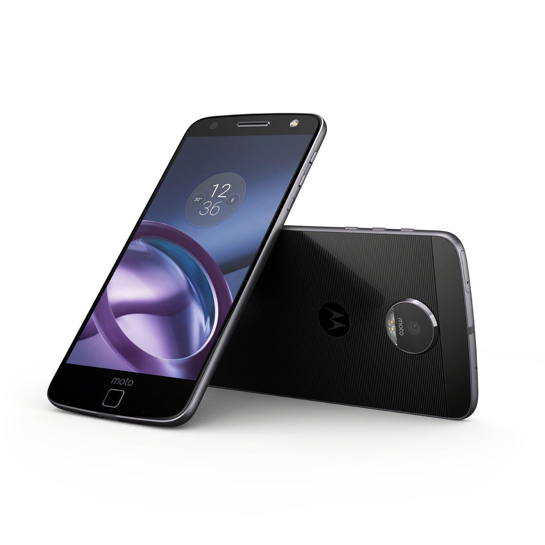 "Motorola Moto Z Play XT1635 32 GB Smartphone - 5.5"" Super AMOLED Full HD 1080 x 1920 - 3 GB RAM - Android 6.0.1 Marshmallow - 4G - Lunar Gray"