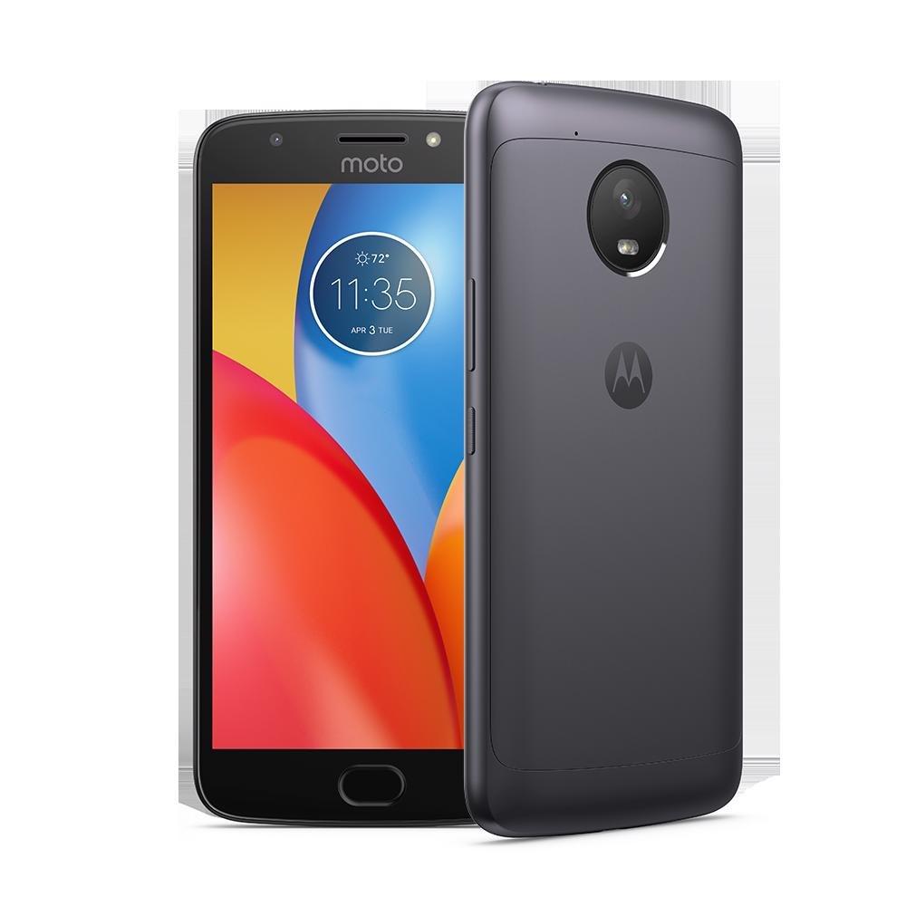 "Motorola Moto E⁴ Plus XT1775 16 GB Smartphone - 5.5"" LCD HD 1280 x 720 - 2 GB RAM - Android 7.1 Nougat - 4G - Iron Gray"