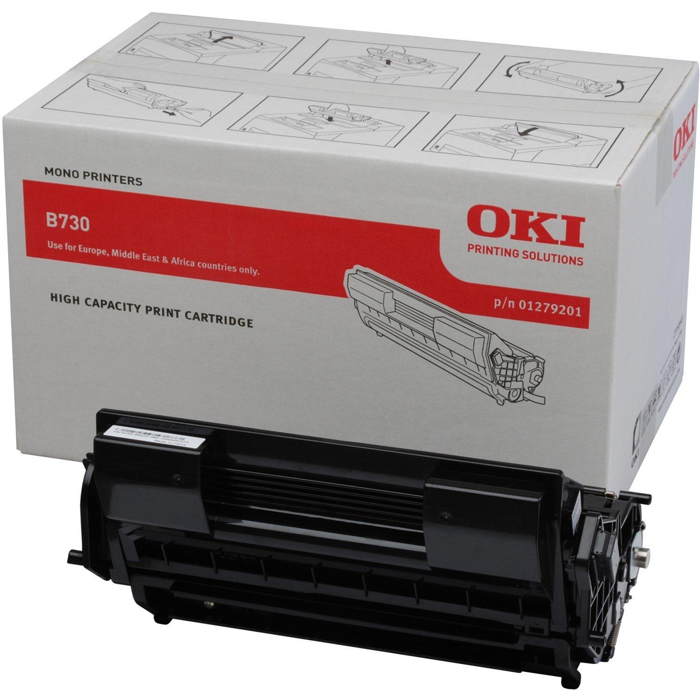 Oki 01279201 Toner Cartridge - Black