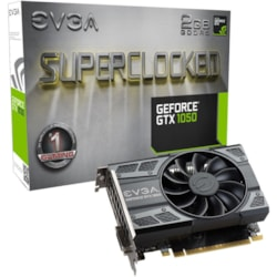 EVGA GeForce GTX 1050 Graphic Card - 1.42 GHz Core - 1.53 GHz Boost Clock - 2 GB GDDR5 - Dual Slot Space Required