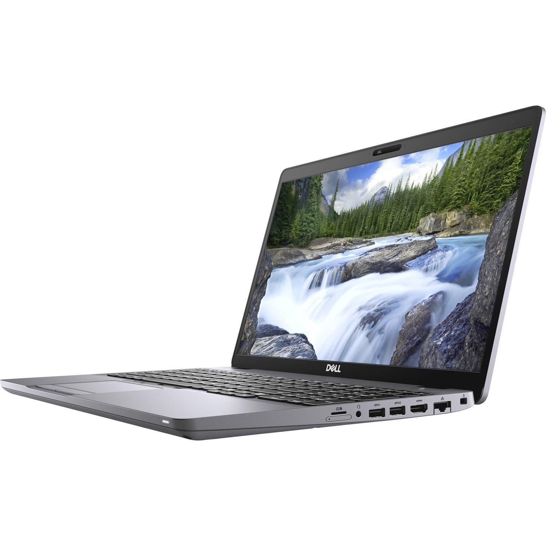 """Dell Latitude 5000 5510 39.6 cm (15.6"""") Notebook - Full HD - 1920 x 1080 - Intel Core i5 (10th Gen) i5-10210U Quad-core (4 Core) 1.60 GHz - 8 GB RAM - 256 GB SSD - Titan Gray"""