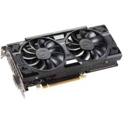 EVGA GeForce GTX 1050 Ti Graphic Card - 1.37 GHz Core - 1.48 GHz Boost Clock - 4 GB GDDR5 - Dual Slot Space Required