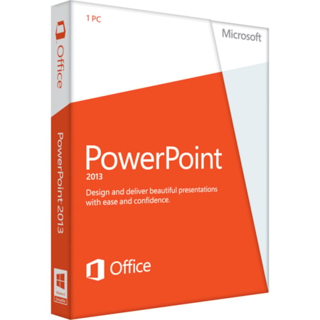Microsoft PowerPoint 2013 32/64-bit - Complete Product - 1 PC - Standard