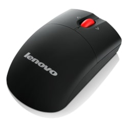 Lenovo 0A36188 Mouse - Radio Frequency - USB - Laser - 3 Button(s) - Black