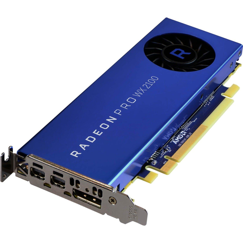 AMD Radeon Pro W2100 Graphic Card - 2 GB GDDR5 - Low-profile