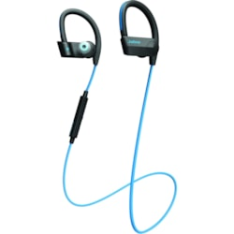 Jabra Sport Pace Wireless Earbud, Over-the-ear Stereo Earset - Blue
