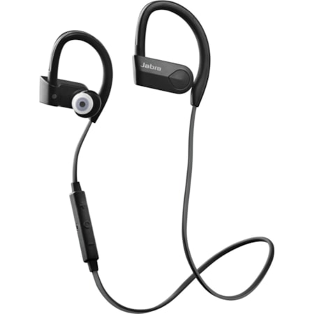 Jabra Sport Pace Wireless Earbud, Behind-the-neck, Over-the-ear Stereo Earset - Black