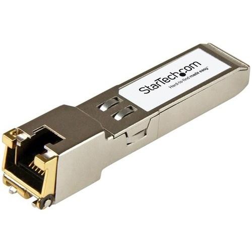 StarTech.com SFP (mini-GBIC) - 1 RJ-45 1000Base-T Network LAN