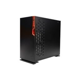 In Win 101 Computer Case - ATX, Micro ATX, Mini ITX Motherboard Supported - Mid-tower - Tempered Glass, SECC, Acrylonitrile Butadiene Styrene (ABS) - Black