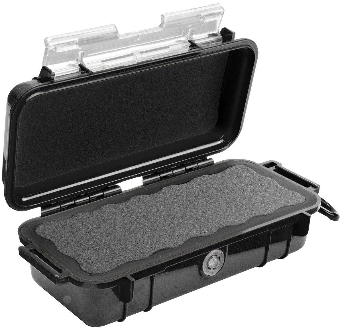 Pelican Micro Case 1030 Carrying Case Camera, Cellular Phone - Black