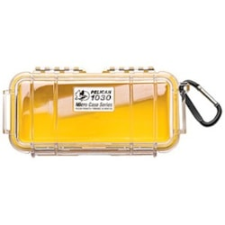 Pelican 1030 Carrying Case Multipurpose - Clear, Yellow