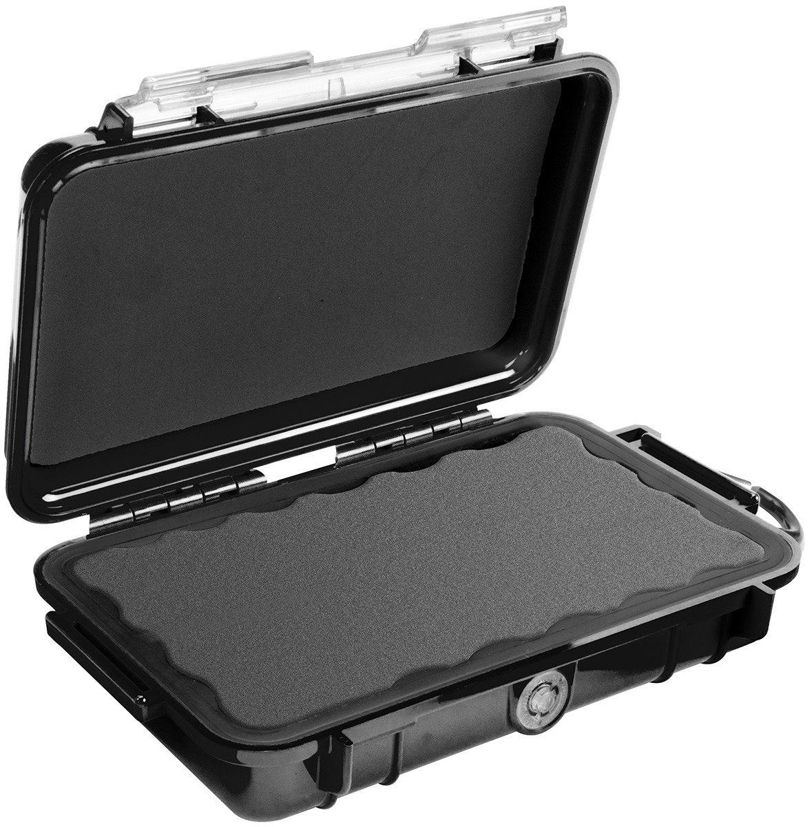 Pelican Micro Case 1040 Carrying Case Camera, Cellular Phone - Black