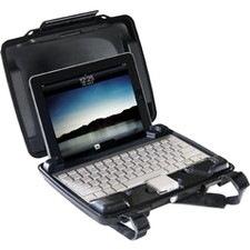 Pelican HardBack i1075 Carrying Case iPad, Accessories - Black