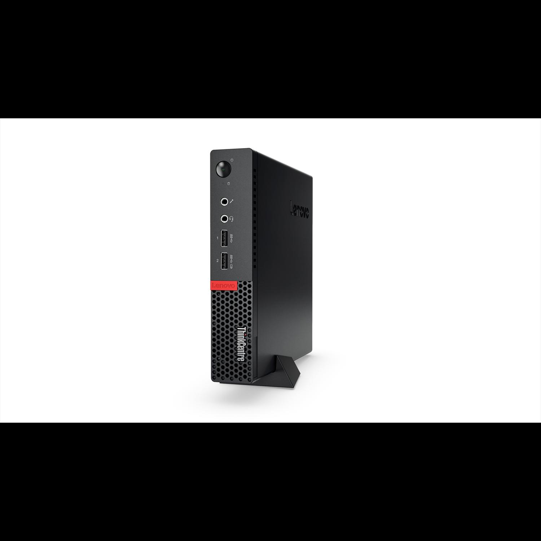 Lenovo ThinkCentre M710q 10MRA003AU Desktop Computer - Intel Core i3 (7th Gen) i3-7100T 3.40 GHz - 8 GB DDR4 SDRAM - 256 GB SSD - Windows 10 Pro 64-bit (English) - Tiny - Black