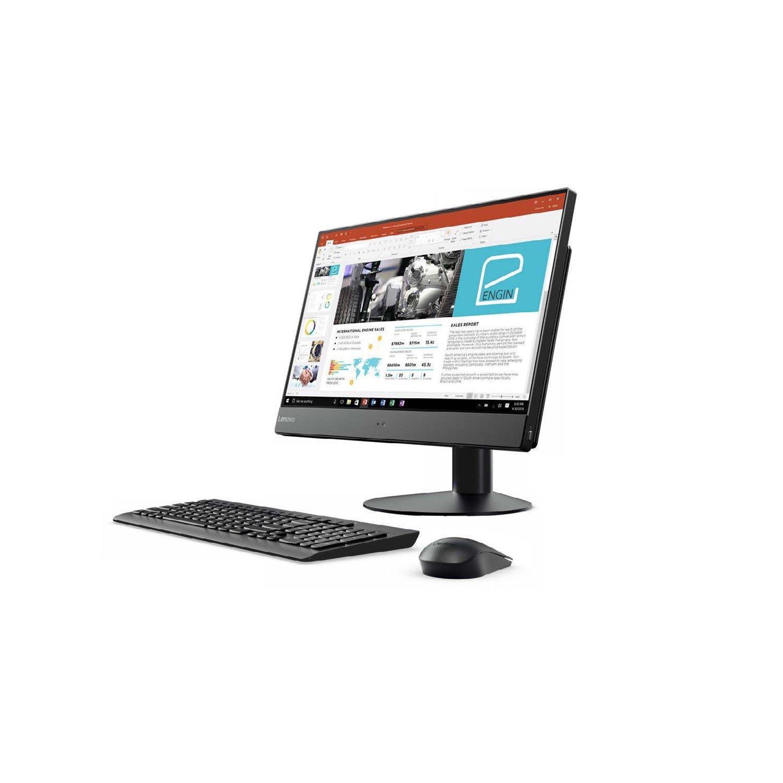 "Lenovo V510z 10NQ0009AU All-in-One Computer - Intel Core i5 (7th Gen) i5-7400T 2.40 GHz - 8 GB DDR4 SDRAM - 128 GB SSD - 58.4 cm (23"") 1920 x 1080 - Windows 10 Pro 64-bit (English) - Desktop - Business Gray, Black"