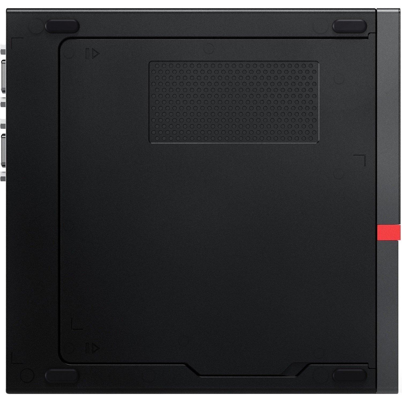 Lenovo ThinkCentre M920q 10RS0054AU Desktop Computer - Intel Core i7 9th Gen i7-9700T 2 GHz - 16 GB RAM DDR4 SDRAM - 512 GB SSD - Tiny - Black