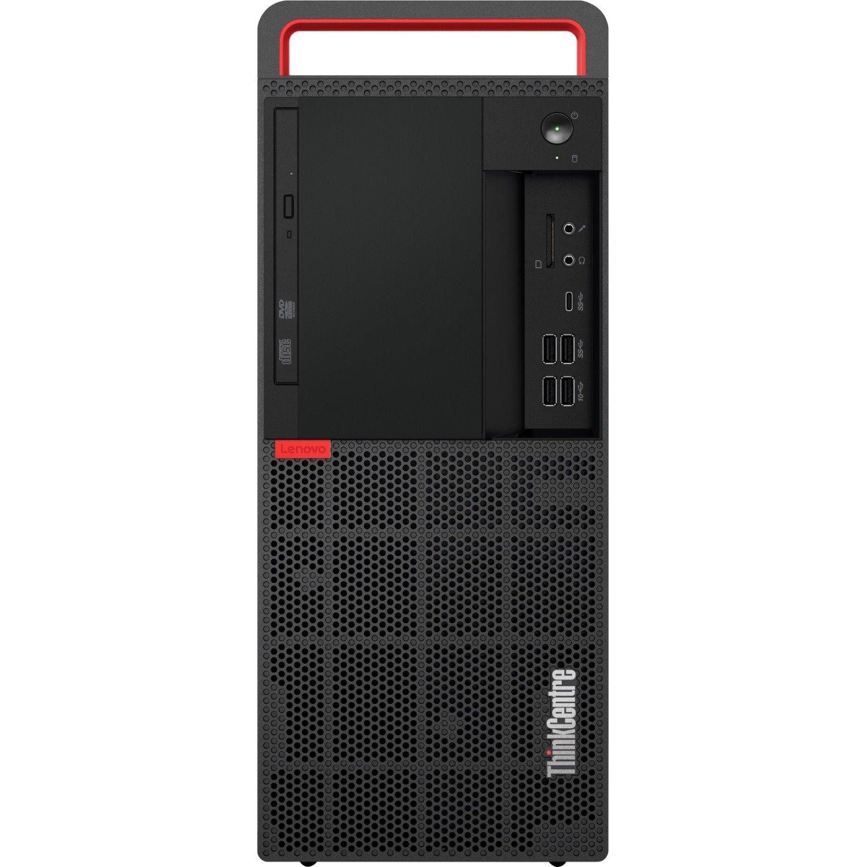 Lenovo ThinkCentre M920t 10SFS00000 Desktop Computer - Intel Core i7 (8th Gen) i7-8700 3.20 GHz - 16 GB DDR4 SDRAM - 1 TB HDD - 256 GB SSD - Windows 10 Pro 64-bit - Tower - Black