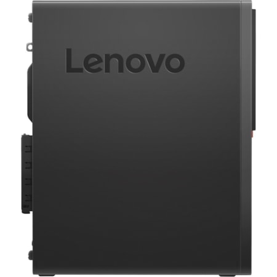 Lenovo ThinkCentre M720s 10STA00DAU Desktop Computer - Intel Core i5 (8th Gen) i5-8400 2.80 GHz - 8 GB DDR4 SDRAM - 1 TB HDD - 16 GB SSD - Windows 10 Pro 64-bit - Small Form Factor - Black