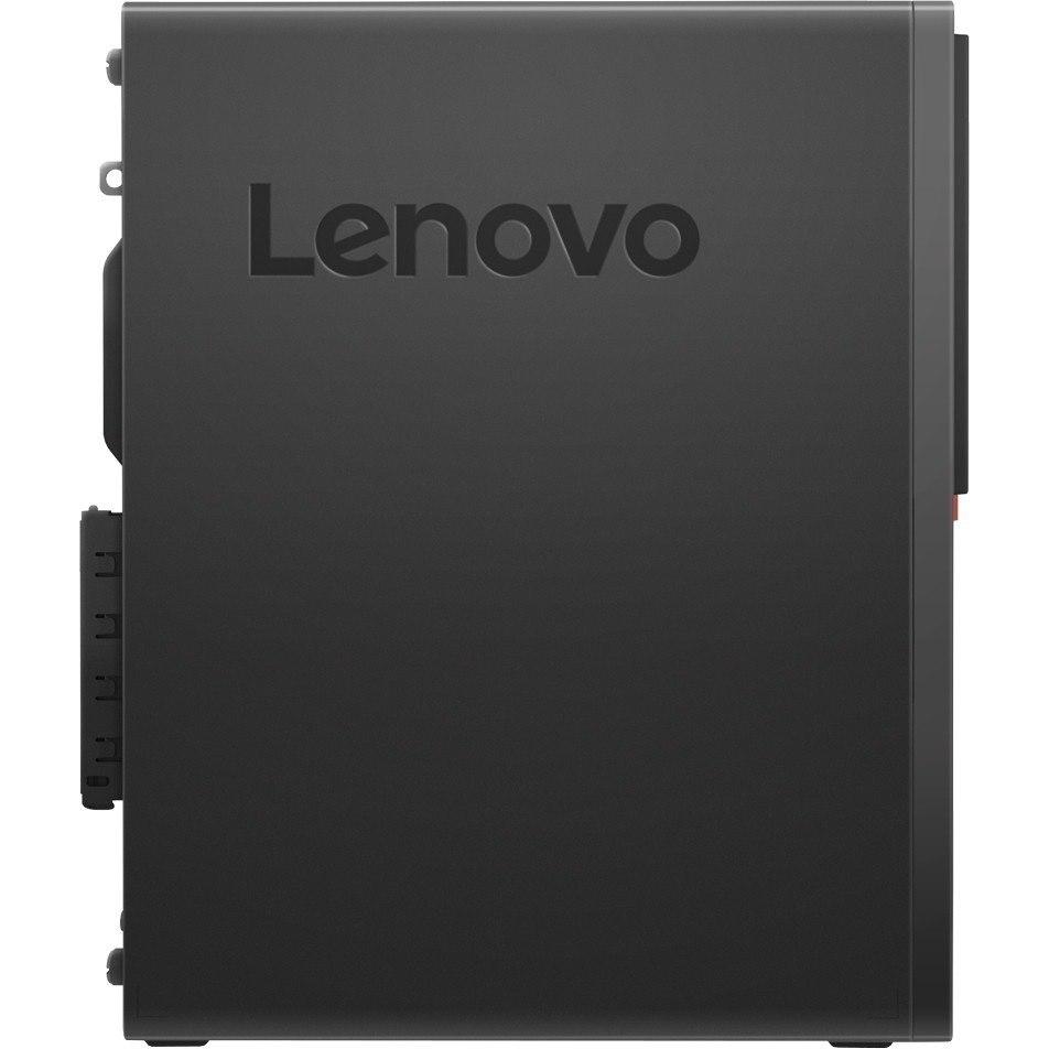 Lenovo ThinkCentre M720s 10STA00EAU Desktop Computer - Intel Core i7 (8th Gen) i7-8700 3.20 GHz - 8 GB DDR4 SDRAM - 1 TB HDD - 16 GB SSD - Windows 10 Pro 64-bit - Small Form Factor - Black