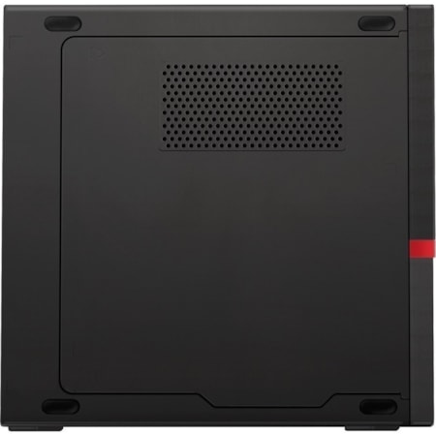 Lenovo ThinkCentre M720q 10T7008RAU Desktop Computer - Core i3 i3-9100T - 8 GB RAM - 256 GB SSD - Tiny - Raven Black
