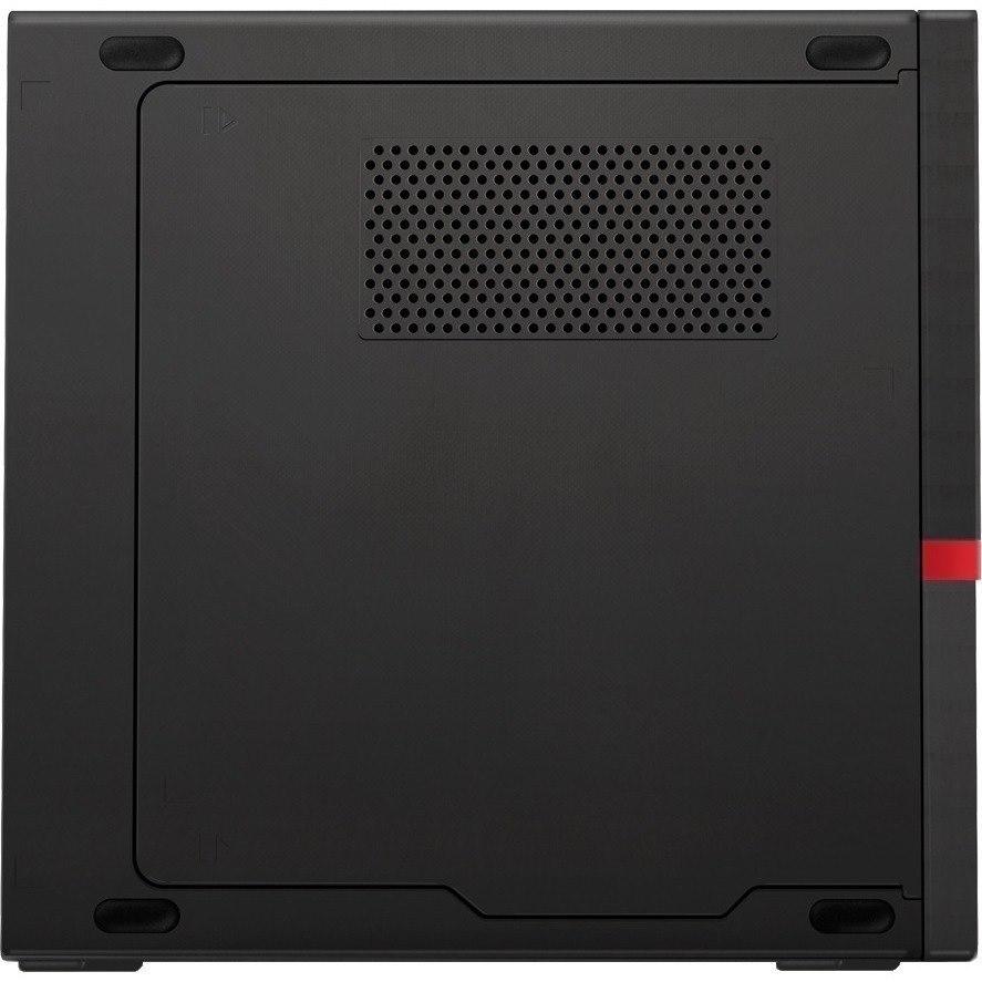 Lenovo ThinkCentre M720q 10T7008UAU Desktop Computer - Core i7 i7-9700T - 8 GB RAM - 256 GB SSD - Tiny - Raven Black