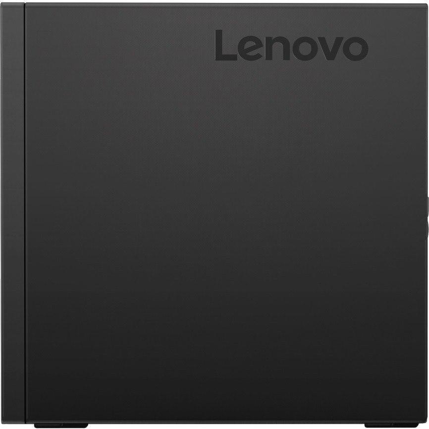 Lenovo ThinkCentre M720q 10T7008VAU Desktop Computer - Core i7 i7-9700T - 16 GB RAM - 512 GB SSD - Tiny - Raven Black