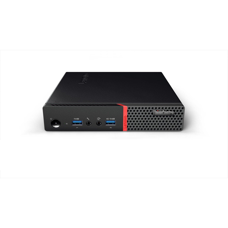 Lenovo ThinkCentre M715q 10VGS08R00 Desktop Computer - Ryzen 5 2400GE - 8 GB RAM - 256 GB SSD - Tiny
