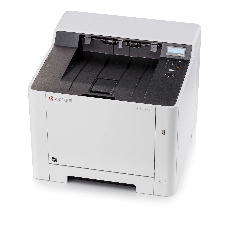 Kyocera Ecosys P5026cdn Laser Printer - Colour - 9600 x 600 dpi Print - Plain Paper Print - Desktop