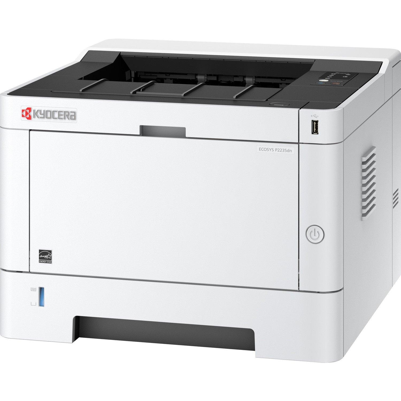 Kyocera Ecosys P2235dn Laser Printer - Monochrome - 1200 dpi Print - Plain Paper Print - Desktop