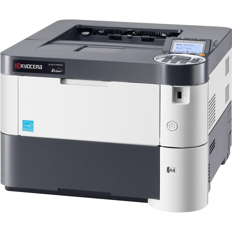 Kyocera Ecosys P3045dn Laser Printer - Monochrome - 1200 dpi Print - Plain Paper Print - Desktop
