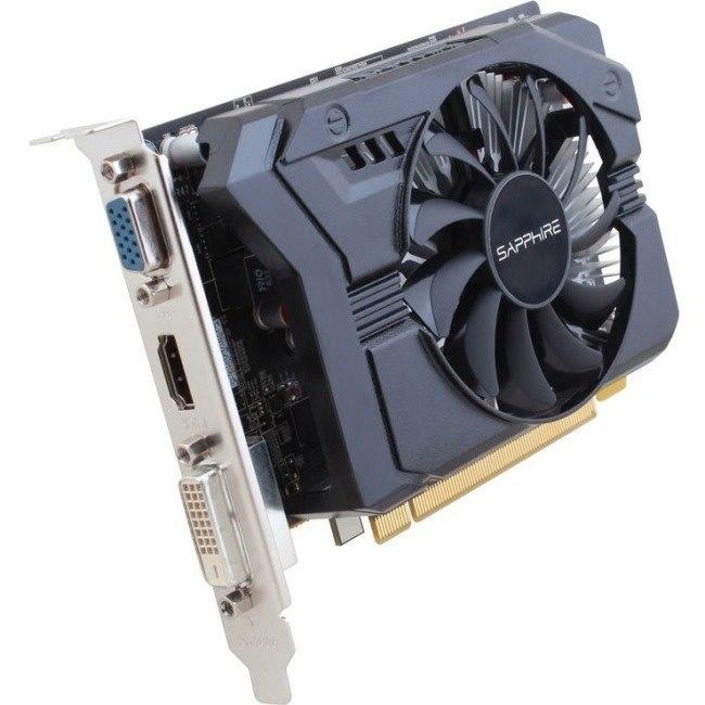 Sapphire Radeon R7 250 Graphic Card - 4 GB GDDR3