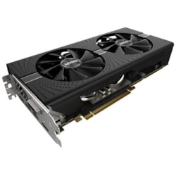 Sapphire NITRO+ Radeon RX 580 Graphic Card - 1.41 GHz Boost Clock - 8 GB GDDR5 - Dual Slot Space Required