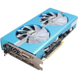 Sapphire NITRO+ Radeon RX 580 Graphic Card - 1.43 GHz Boost Clock - 8 GB GDDR5 - Dual Slot Space Required
