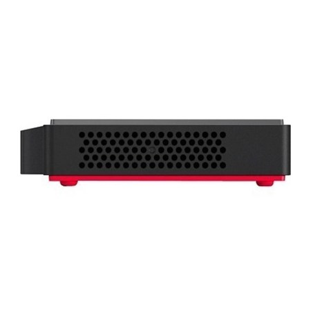 Lenovo ThinkCentre M90n-1 11AD000QAU Desktop Computer - Intel Core i7 8th Gen i7-8665U 1.90 GHz - 16 GB RAM DDR4 SDRAM - 512 GB SSD - Ultra Small - Black