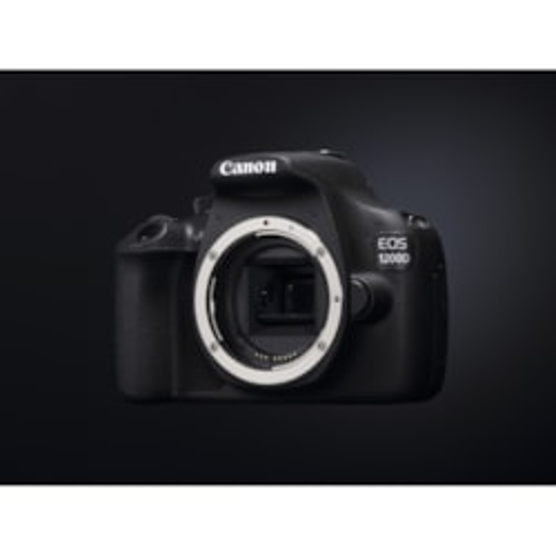 Canon EOS 1200D 18 Megapixel Digital SLR Camera Body Only - Black