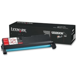 Lexmark 12026XW Laser Imaging Drum - Black