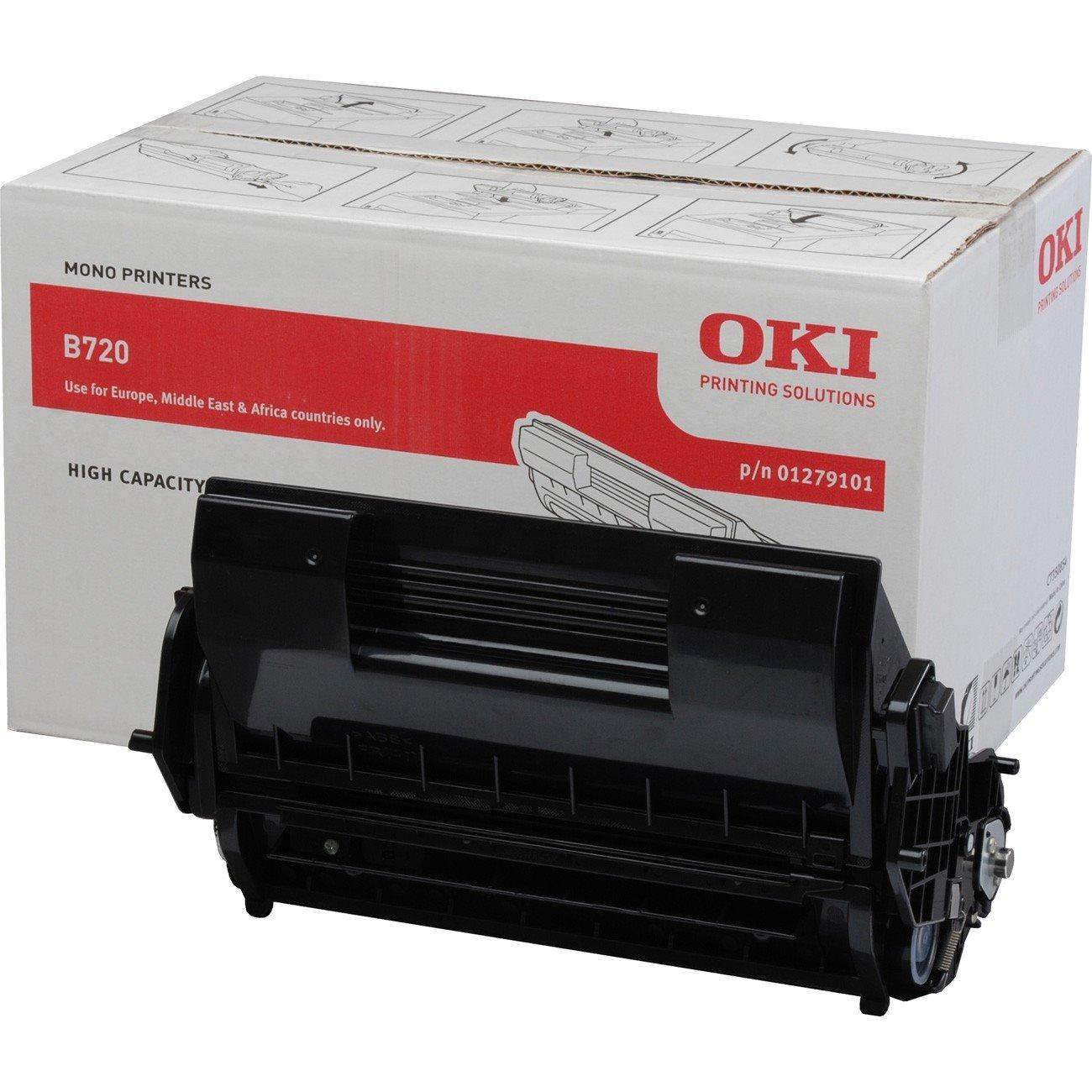 Oki 1279101 Toner Cartridge - Black