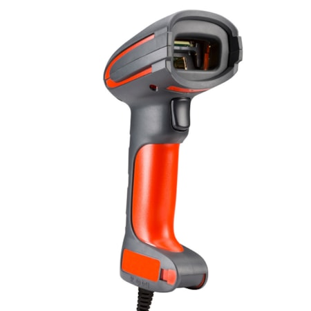Honeywell Granit 1280i Handheld Barcode Scanner - Cable Connectivity - Red, Grey