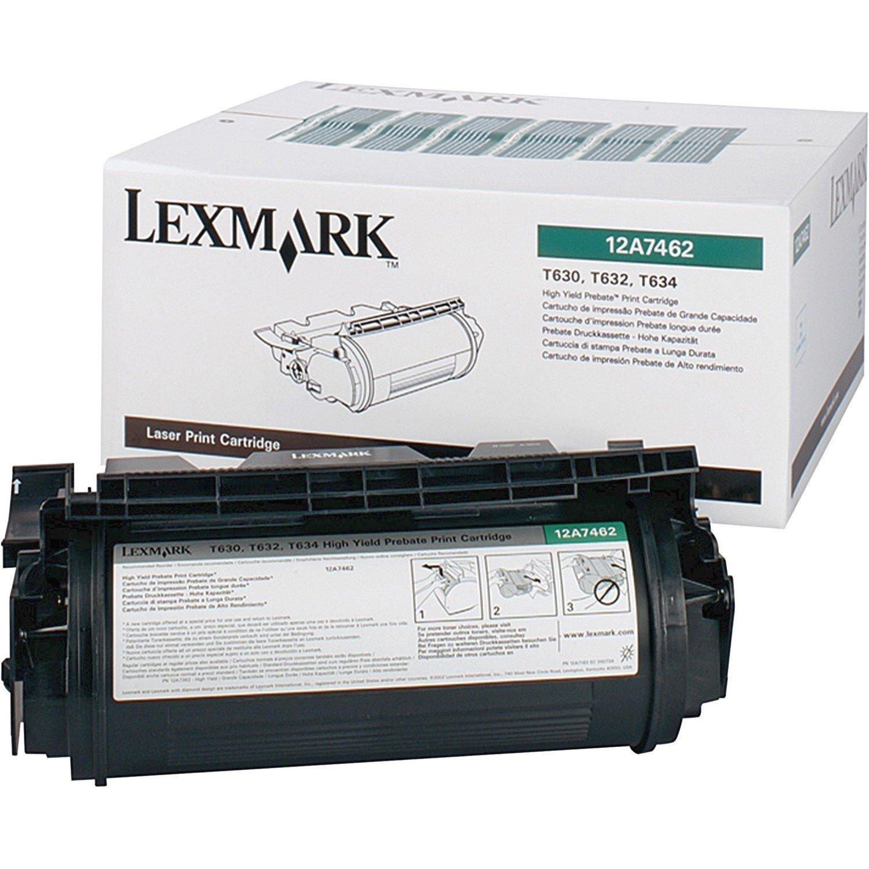 Lexmark 12A7462 Toner Cartridge - Black