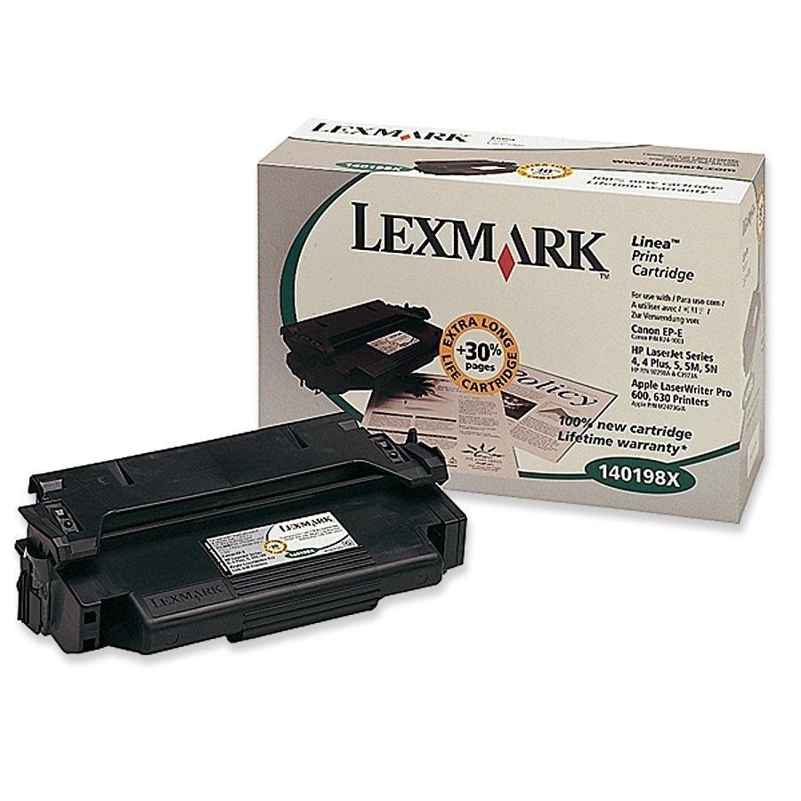Lexmark 140198X Toner Cartridge - Black