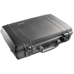 """Pelican Deluxe 1490CC1 Carrying Case (Briefcase) for 38.1 cm (15"""") Notebook - Black"""