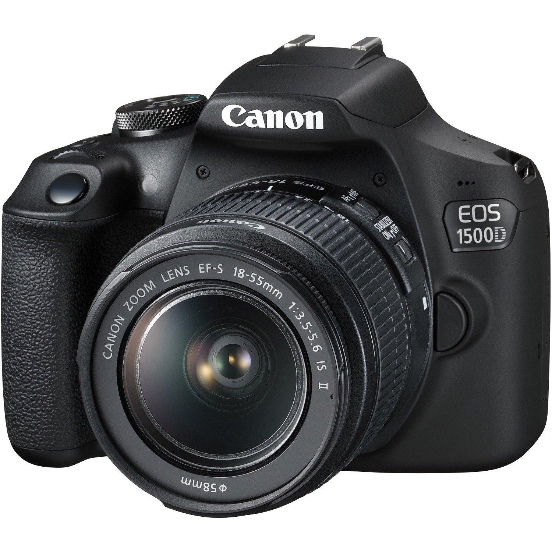 Canon EOS 1500D 24.1 Megapixel Digital SLR Camera with Lens - 18 mm - 55 mm