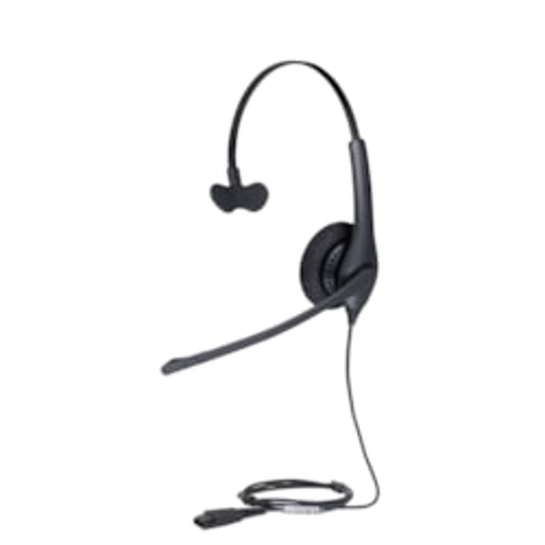 Jabra BIZ 1500 Wired Mono Headset - Over-the-head - Supra-aural