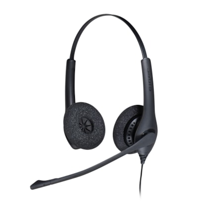 Jabra BIZ 1500 Wired Stereo Headset - Over-the-head - Supra-aural