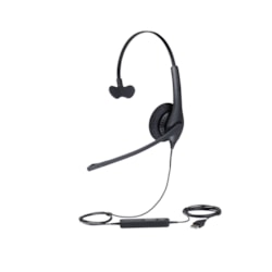 Jabra BIZ 1500 Wired Mono Headset - Over-the-head - Supra-aural