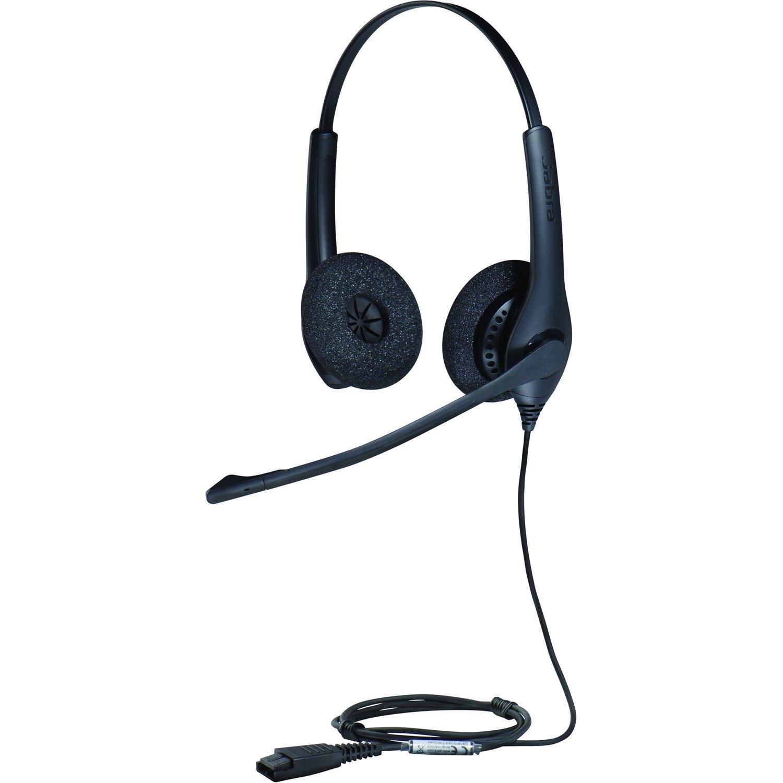 Jabra BIZ 1500 Wired Stereo Headset - Over-the-head - Supra-aural
