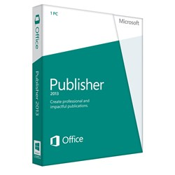 Microsoft Publisher 2013 (Windows)