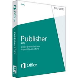 Microsoft Publisher 2013 32/64-bit - Complete Product - 1 PC - Standard