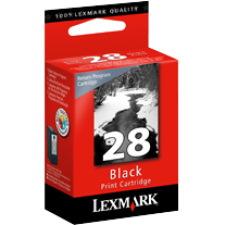 Lexmark 28 Ink Cartridge - Black