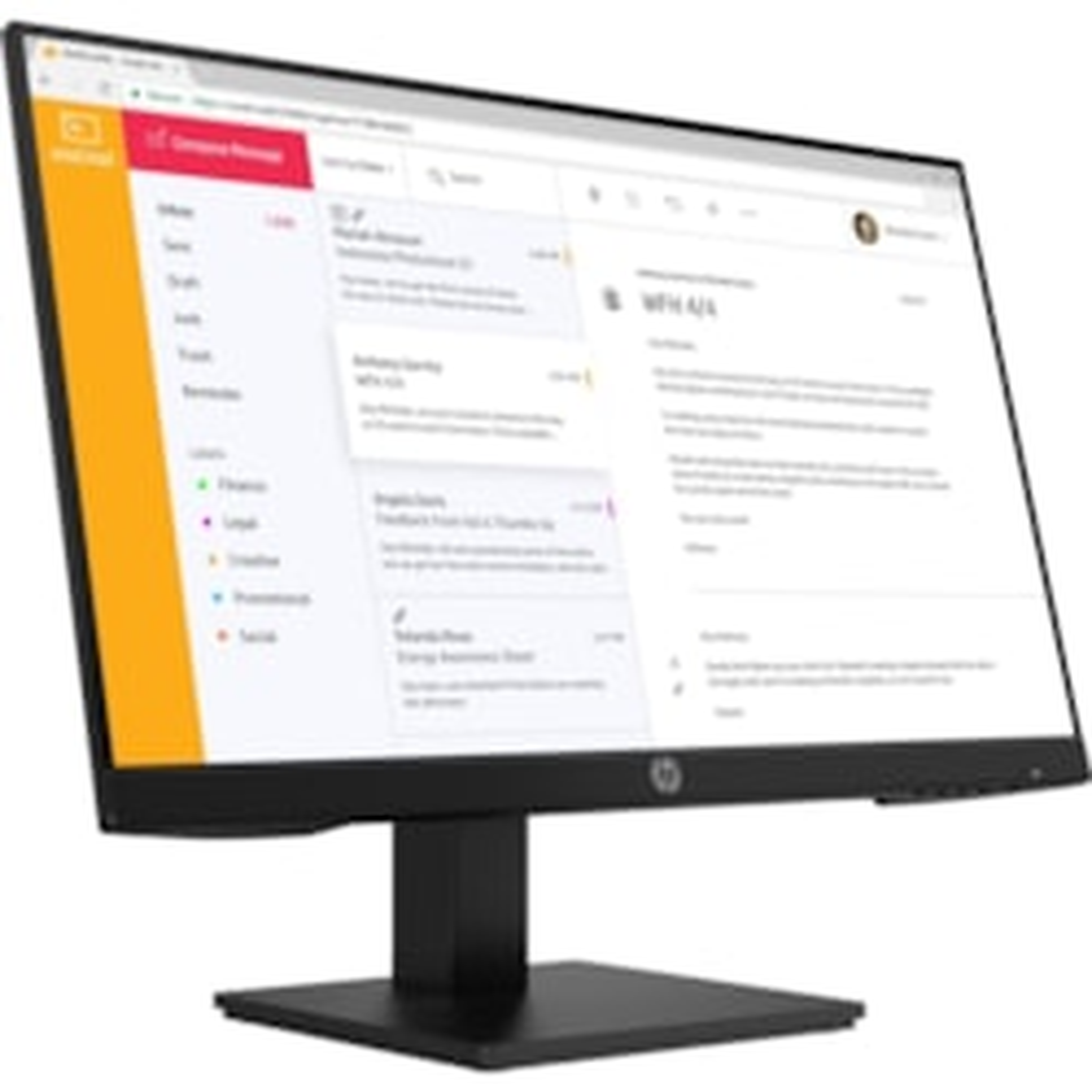 "HP P24 G4 60.5 cm (23.8"") Full HD LCD Monitor - 16:9"